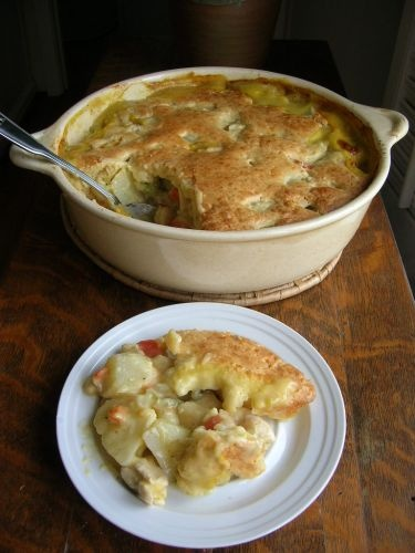 Hearty Chicken Pot Pie - by The Southern Lady Cooks