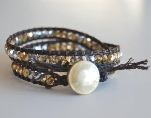 beaded bracelet tutorial