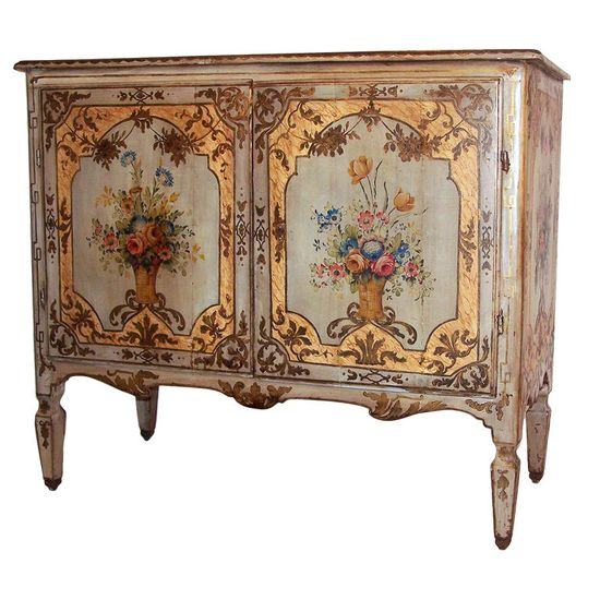 so lovely ....antique painted furniture