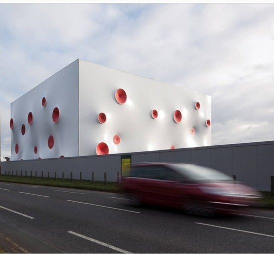 Olympic Shooting Venue,  London / Magma Architecture