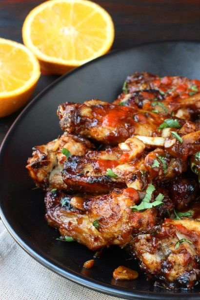 Yummy, a new twist on wings -- Marinated Spicy Marsala Chicken Wings #tailgating