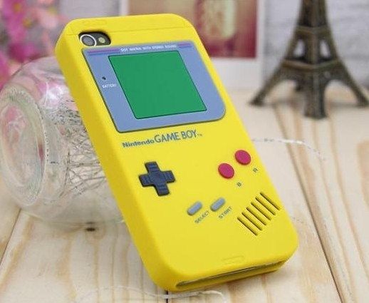 Game Boy I-phone cover. Yes please!