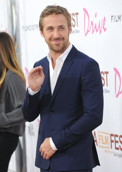 #RyanGosling waved to fans at the LA Film festival premiere of Drive. #hot #celebrity