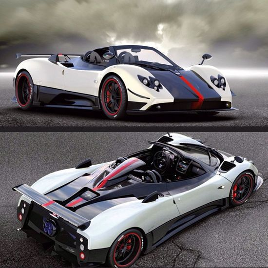 One of the fastest supercars in the World - The Pagani Zonda