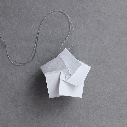 DIY: star ornament