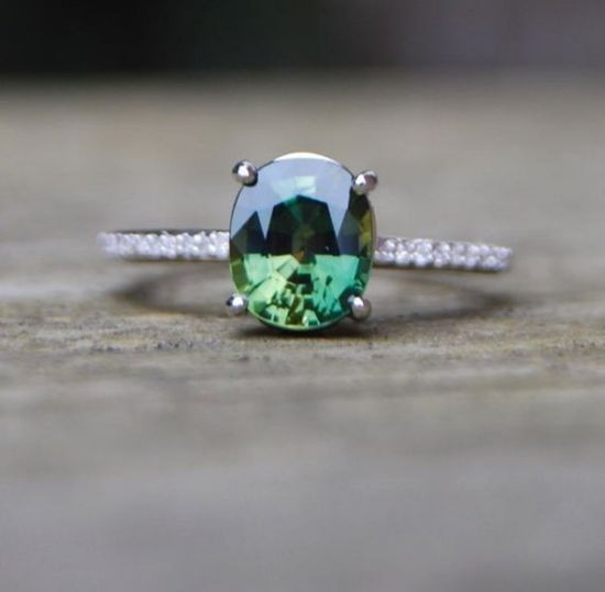 Alternative engagement ring. Possibly a bigger emerald though.... :)