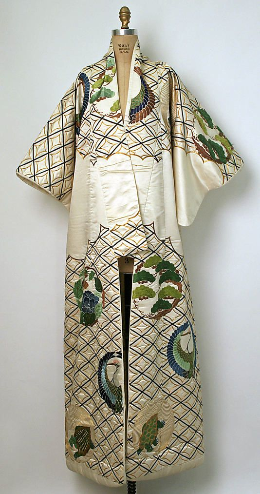 Kimono  Date: 1800–1941 Culture: Japanese Medium: silk