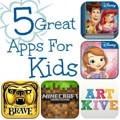 5 Mobile Apps Kids Will Love - great for travel this summer!