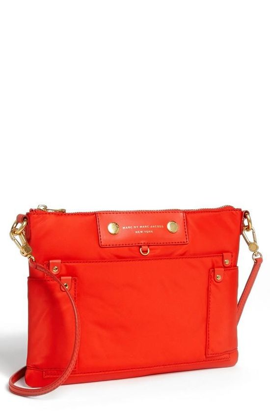 'Preppy Nylon' tablet crossbody bag by Marc by Marc Jacobs.