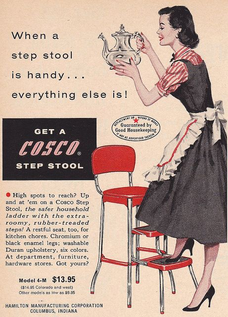 Very true - take it from a petite gal. #vintage #1950s #ad #homemaker #housewife