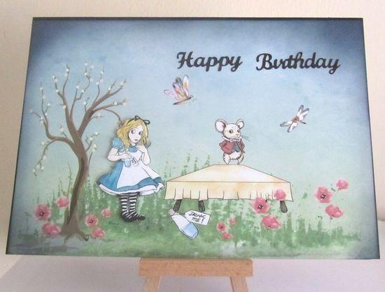 Handmade Birthday Card £2.00