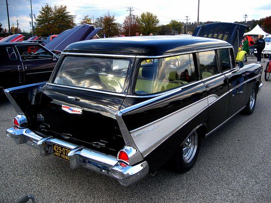 1957 Chevrolet Belair Wagon vintage nomad