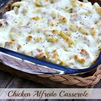 Chicken Alfredo Casserole