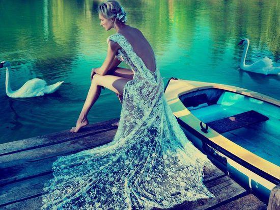 Romantic wedding gown… Love it!