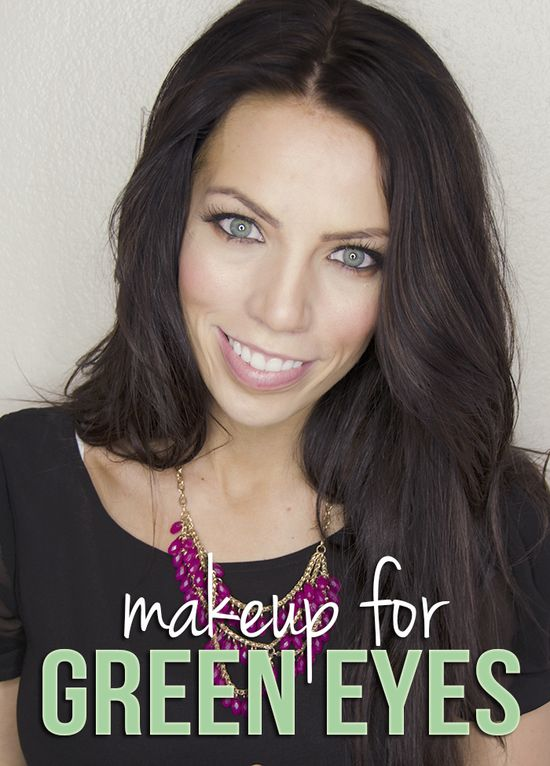 Makeup tutorial for green eyes using only drugstore products!