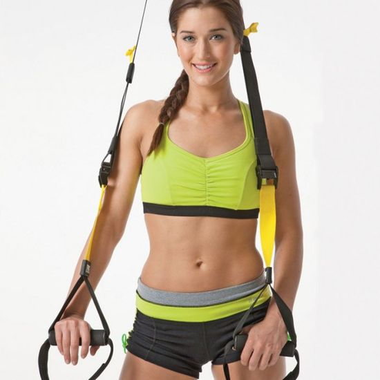 TRX Workout: 7 Moves to Erase Every Bulge - Sculpt your body from every angle with this super-effective, portable piece of equipment