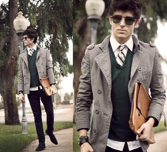 #green #men #fashion