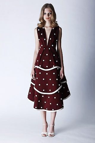polka dot dress vintage
