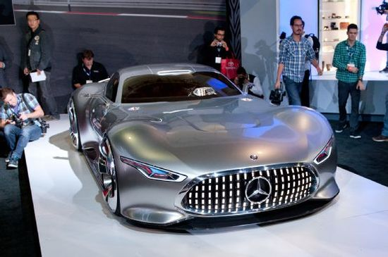 Mercedes-Benz AMG Vision Gran Turismo Concept is Stunning - Motor Trend WOT