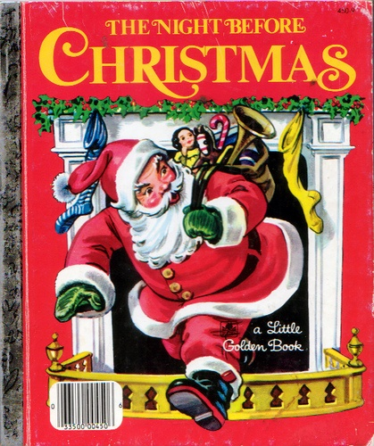 The Night Before Christmas- Corinne Malvern, 1949-1980's Cover
