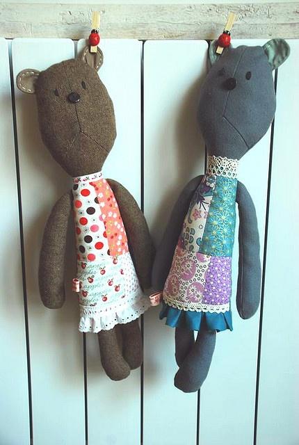 Mice dolls By Tania Ho