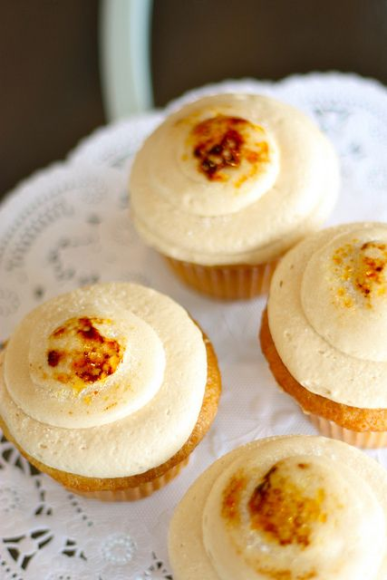 Creme Brulee Cupcakes from The Sweet Tooth Fairy (Provo & Draper, Utah) by projectdomesticationblog, via Flickr