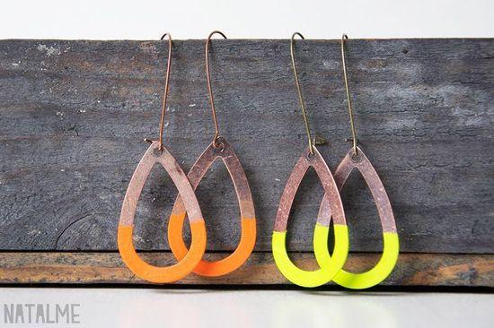 Handmade Earrings for Fall
