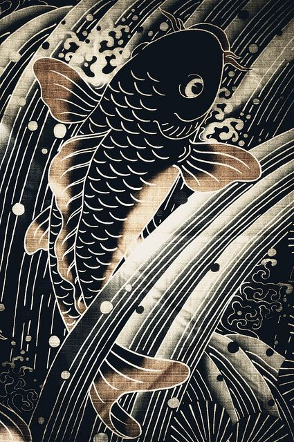 Japanese textile: photo by ?? Ogawasan, via Flickr