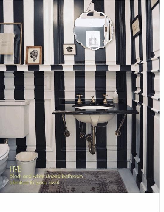 Bathroom: via www.lonnymag.com/