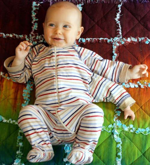 DIY Mutant baby costume
