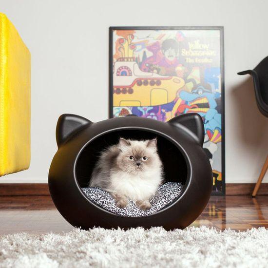 Cat Bed Black