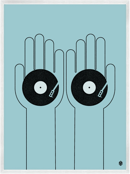 Beats And Music Prints by My Little Underground @ Uncovet