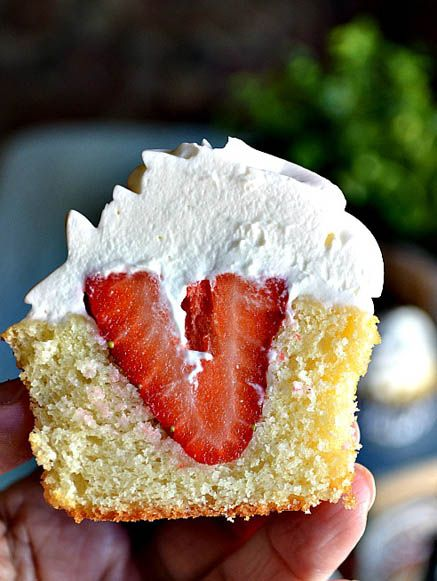 Strawberry Shortcake Cupcake by Lady Behind the Curtain