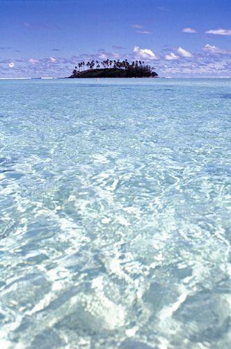 Muri Lagoon, Rarotonga in the Cook Islands: Gorgeous.