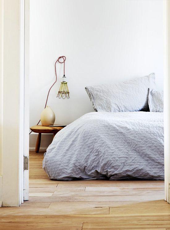 Cozy bedroom via @Liz Garden magazine