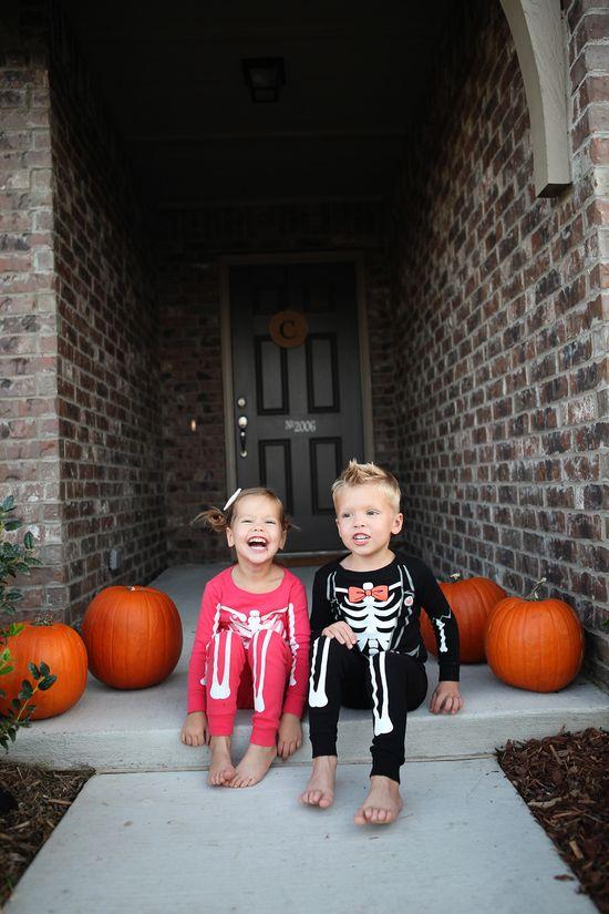 cute kids halloween pj's