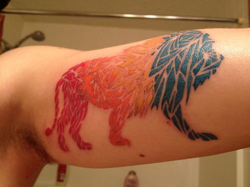 Tattoo is from Express Yourself Tattoo in Lackawanna, NY by the...