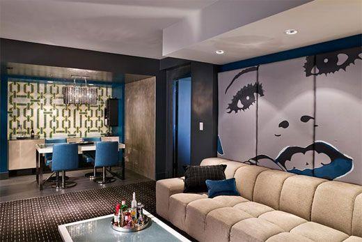 Atlanta W Hotel Interior Design Idea by ICRAVE