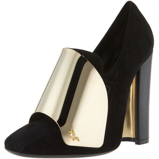 Yves Saint Laurent Cardinal Loafer Pump