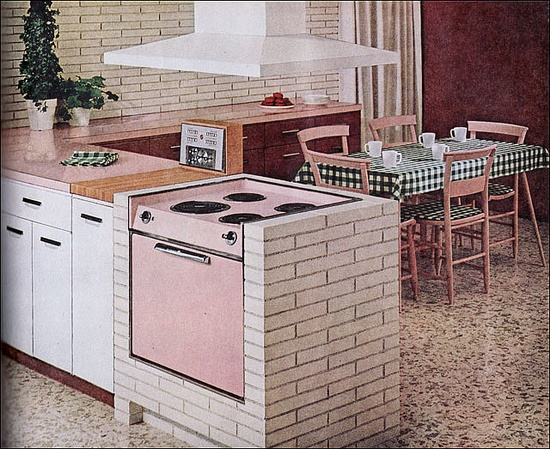 1960 General Electric Kitchen