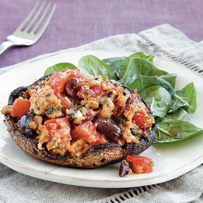 Calling all veggies:  Vegetarian StuffedMushrooms