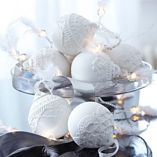 White Christmas Decor Inspiration!