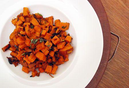 Recipe: Herbed Skillet Sweet Potatoes  Best Savory sweet potatoes I've made yet!