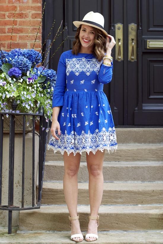 embroidered dress www.sequinsandstr...