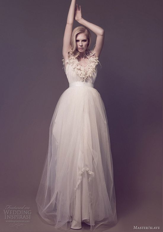 Master/slave Wedding Dresses — Flora Galaxies Bridal Collection