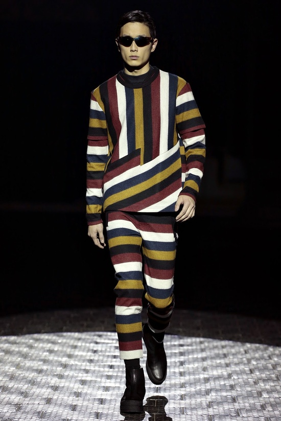 KENZO 2013-14 F/W COLLECTION RUNWAY