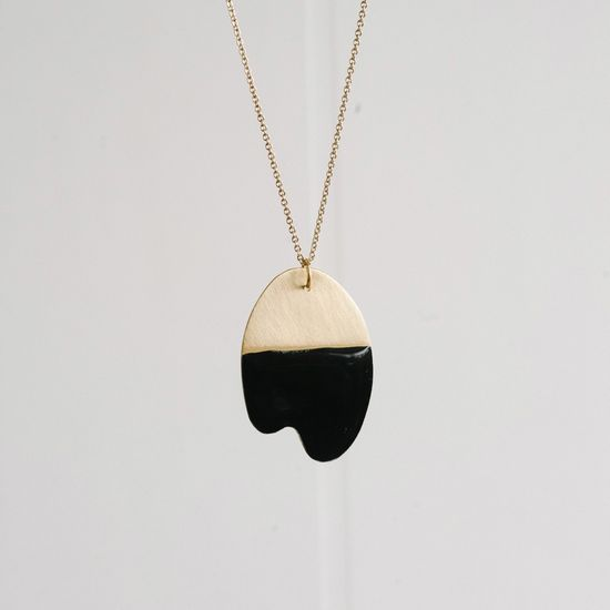 danielle wright dipped necklace.