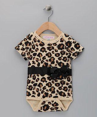 FABULOUS Leopard Baby Outfit   Bodysuit & by littledivaonline, $34.00