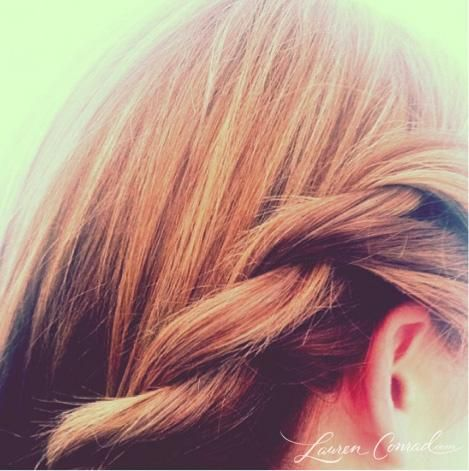 unicorn braid #LaurenConrad