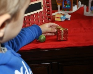 Christmas Sensory Bin and Ways to Extend Learning